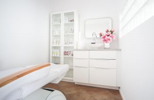 wnętrze Salonu kosmetycznego Akai